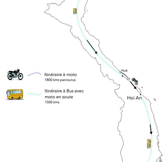 VIETNAM – Bilan Itinéraire 1 mois à moto
