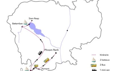CAMBODGE – itinéraire, bilan