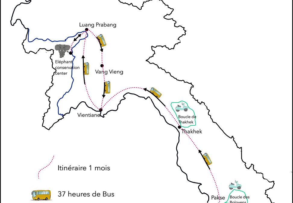 LAOS – Bilan budget itinéraire