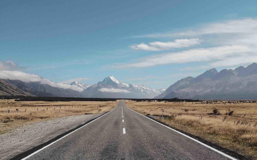 NOUVELLE ZELANDE – Mont cook, lac Pukaki et le lac Tekapo
