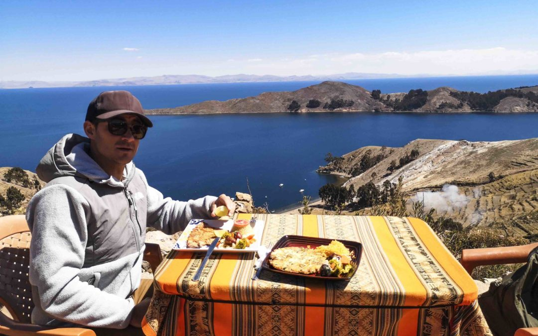BOLIVIE – Copacabana, Lac Titicaca