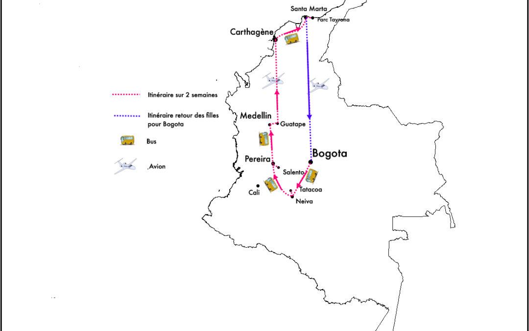 COLOMBIE – Itinéraire 2 semaines