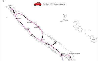 NOUVELLE CALEDONIE bilan, infos, itinéraire