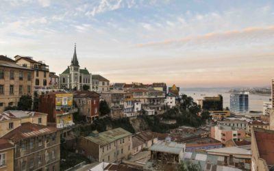 CHILI- Valparaiso , capitale culturelle