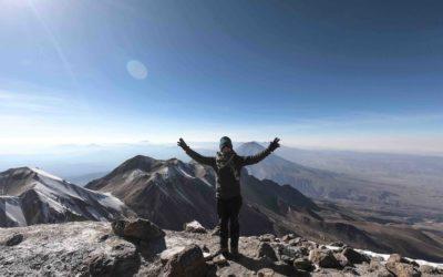 PEROU – Arequipa, Volcan CHACHANI