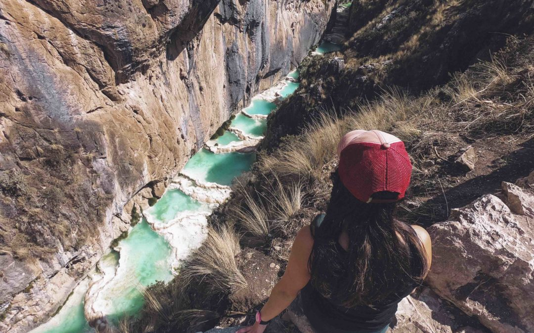 PEROU – Ayacucho, Les piscines de Millpu