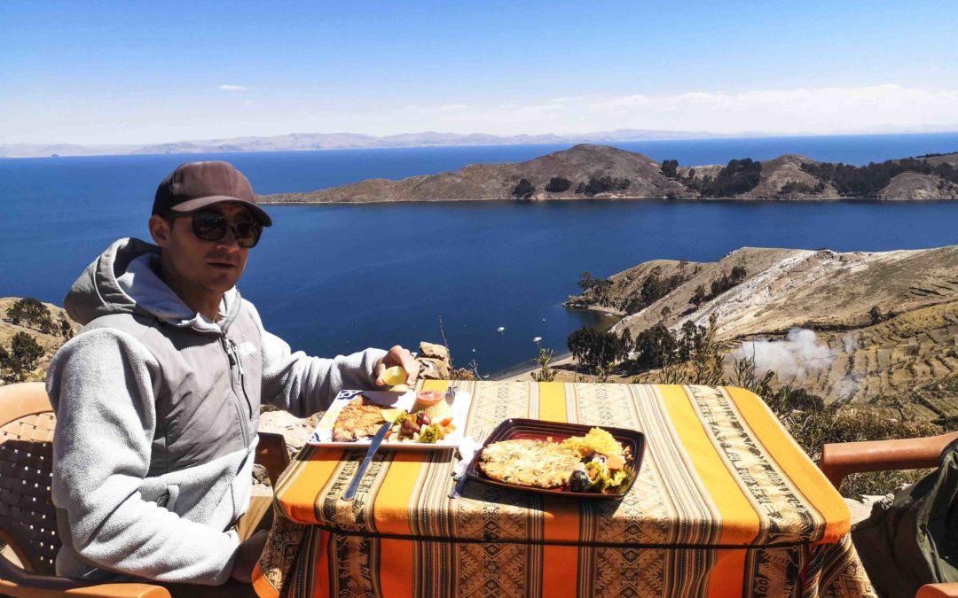 BOLIVIE – Copacabana, Lac Titicaca